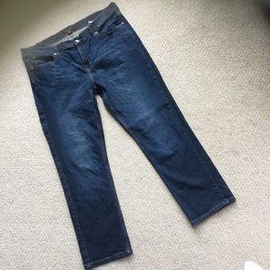 Banana Republic girlfriend jeans size 32/14